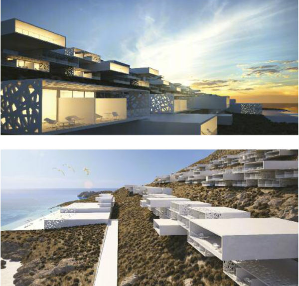 Mykonos White Boxes Resort, Potiropoulos+Partners