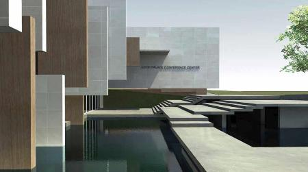 Architectural  Competition the Conference Center of Astir Palac