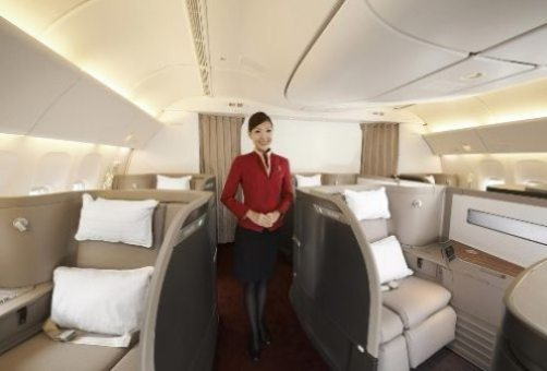 Foster + Partners completes upgrade of Cathay Pacific's first class cabin