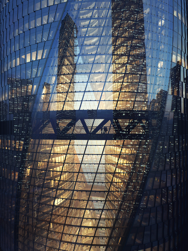 Construction of Leeza SOHO reaches level 20, Zaha Hadid Architects