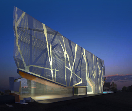 Διαγωνισμός  Office Building and Conference Centre in Nicosia, Cyprus, Pieris Architects
