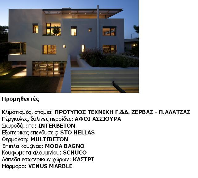Single family house in Filothei, Christina Loukopoulou, Iro Bertaki Costis Paniyiris